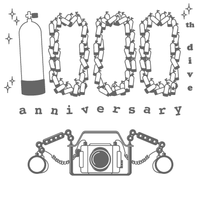 1000th dive anniversary