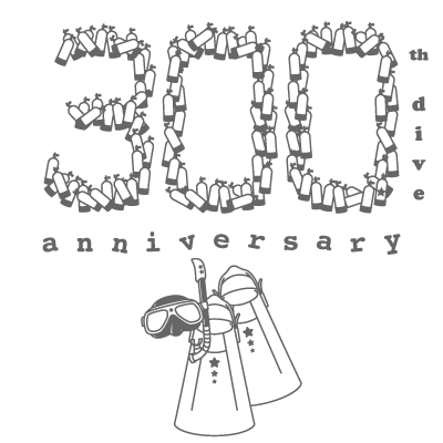 300th dive anniversary