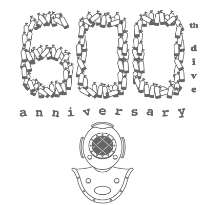 600th dive anniversary