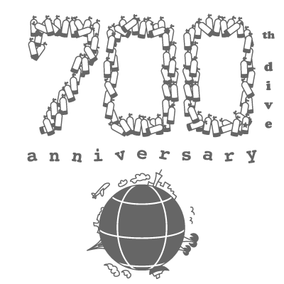 700th dive anniversary