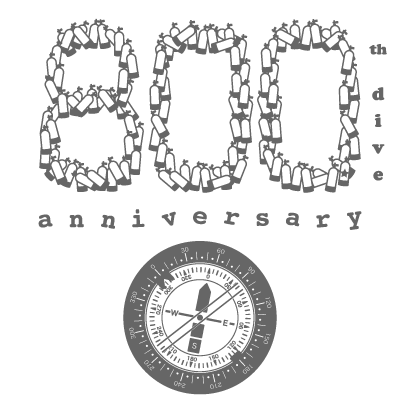 800th dive anniversary
